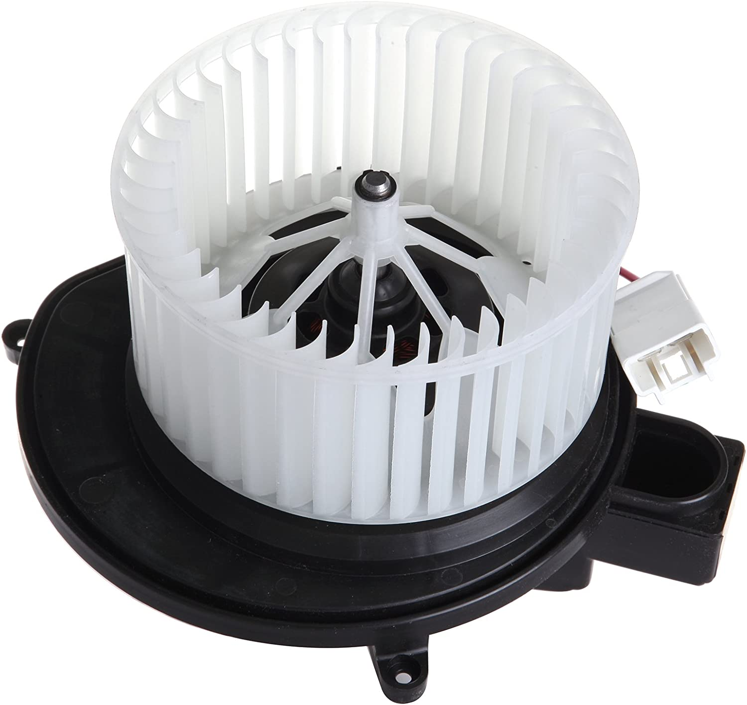 HVAC plastic Heater Blower Motor w/Fan ABS Cage ECCPP for 2007-2011 Dodge Nitro/ 2008-2012 Jeep Liberty