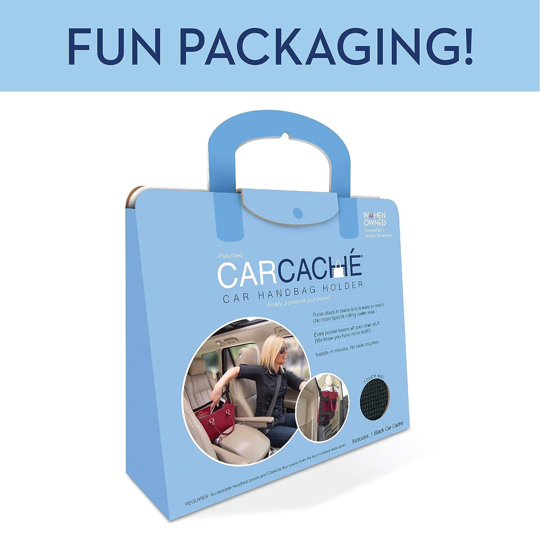 4350405725 Car Handbag Holder: Original Invention Car Cache Black Patented