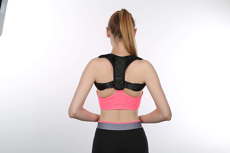 Amazon com posture corrector for women men comfortable posture brace for belt back shoulder adjustable posture strap back support for back shoulder pain