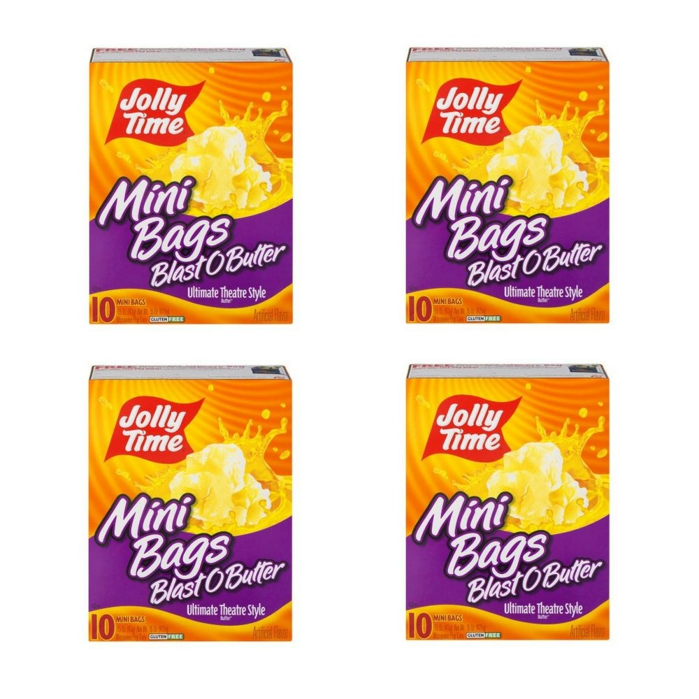 Jolly Time Blast O Butter 10 Mini Bags (4 PACK)