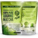 Matcha Organics Grüntee-Pulver, 1-er Pack (1 x 113 g)