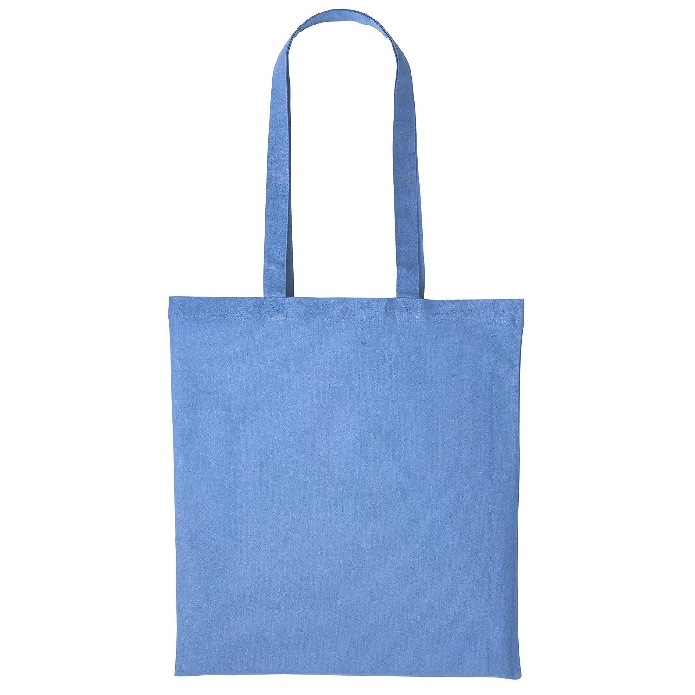 Plain Strong Shoulder Shopper Bag One Size Lemon