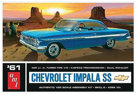 Amazon com: AMT AMT1013 1:25 Scale 1961 Chevrolet Impala SS