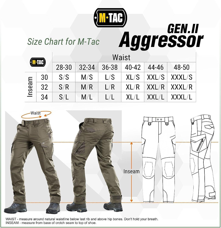 Aggressor Flex - Tactical Pants - Men Cotton with Cargo Pockets at  Men's Clothing store