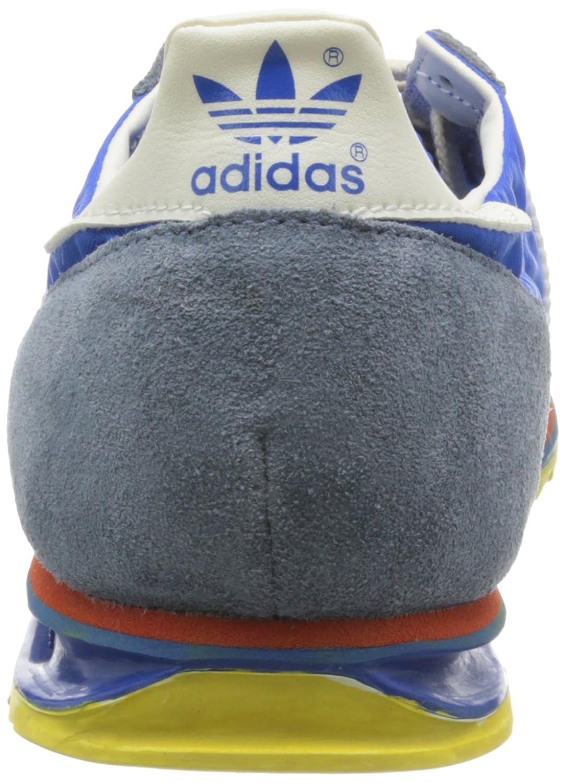 adidas SL 72 Vin Zapatillas para Hombre, Color AzulBlancoRojoAmarillo, Talla 6