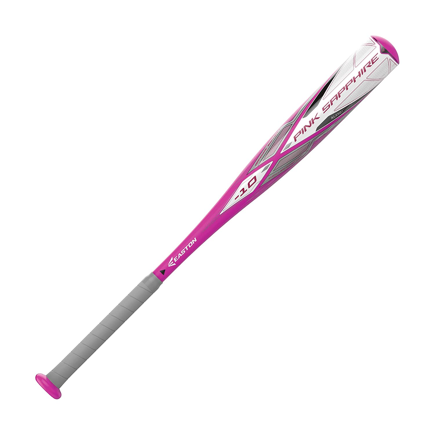 1 Piece Aluminum Ultra Thin Handle 2020 Approved All Fields Comfort Grip ALX50 Military Grade Aluminum EASTON PINK SAPPHIRE -10 Girls // Youth Fastpitch Softball Bat