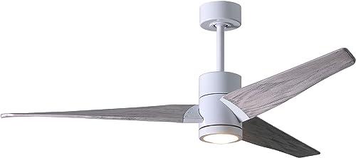Matthews SJ-WH-BW-52 Super Janet 52″ Outdoor Ceiling Fan