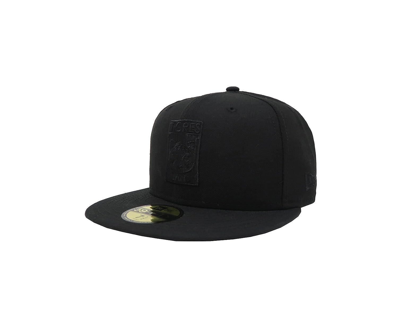New Era 59Fifty Hat Tigres De Monterrey Soccer Club MX League Black Fitted Cap