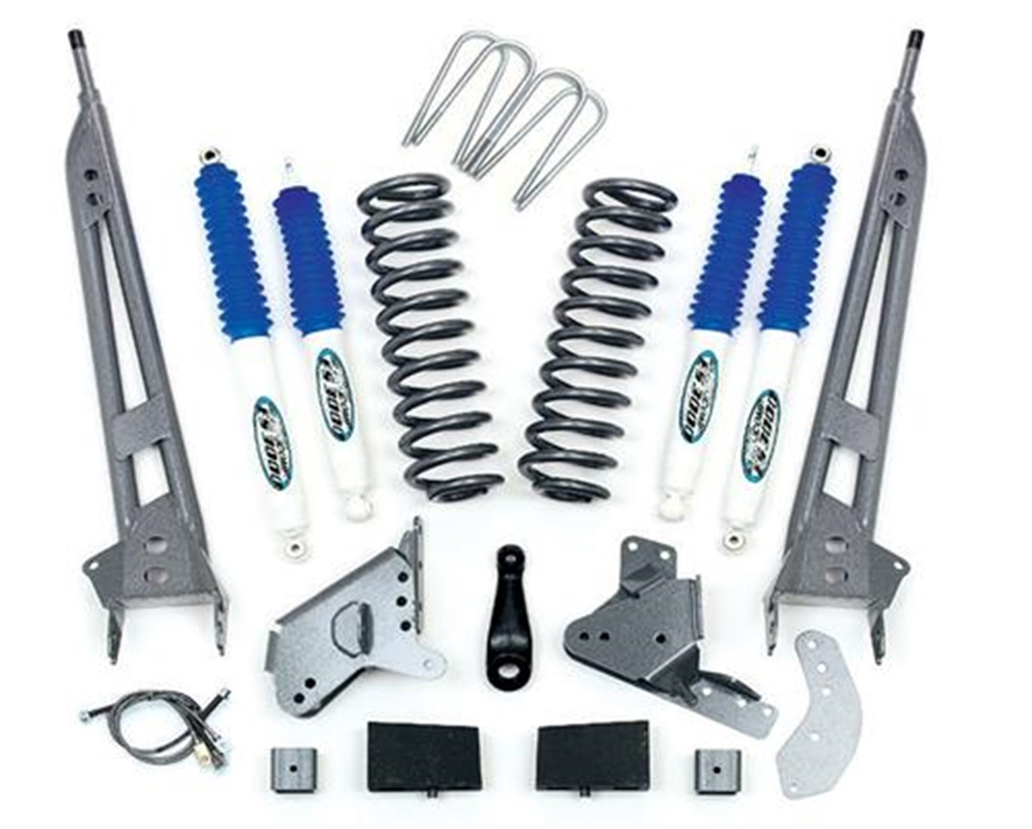 Pro Comp K4064B 6 Stage II Lift Kit with Coil Block and ES3000 Shocks for F150 4WD Standard Cab 90-96