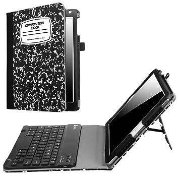 Amazon.com: Fintie funda para teclado para iPad 9,7 pulgadas ...