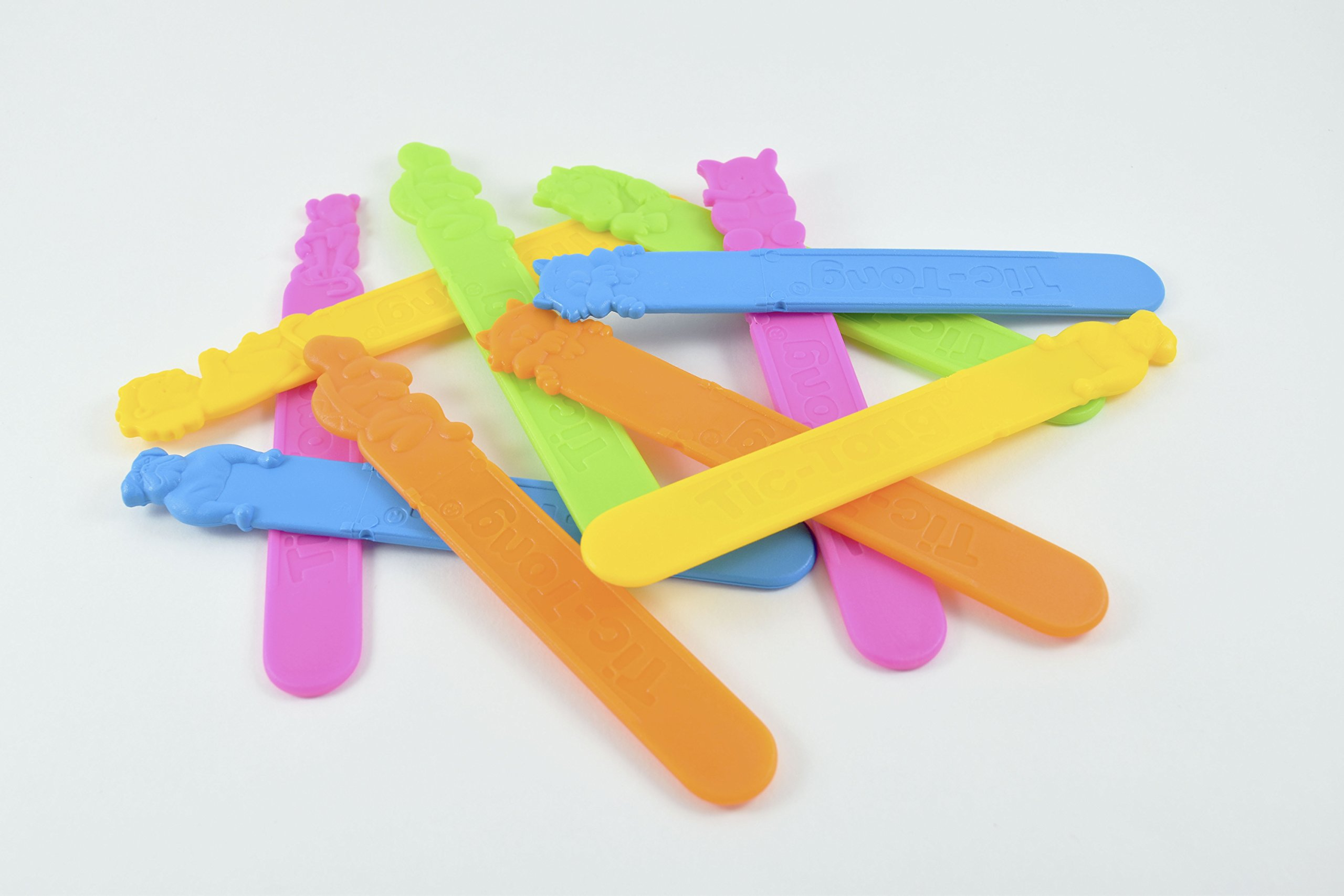 Tic-Tongᵀᴹ Animal Jr. Model - Tutti-Frutti Flavored Tongue Depressors - 6 packs containing 40 units each