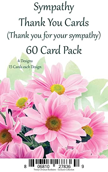 Amazon sympathy thank you cards premium 60 ct religious sympathy thank you cards premium 60 ct religious greeting card asst w scripture altavistaventures Gallery