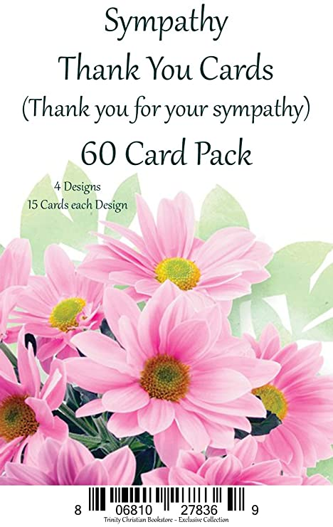 Amazon sympathy thank you cards premium 60 ct religious sympathy thank you cards premium 60 ct religious greeting card asst w scripture m4hsunfo