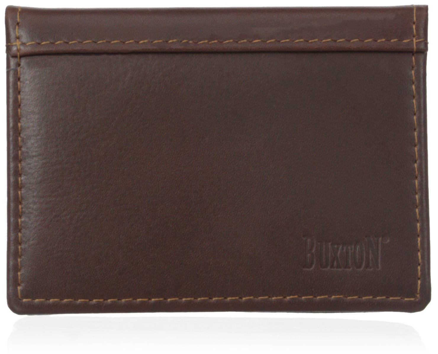 Amazon.com: Buxton Men\'s Sandokan Business Card Holder, Brown, One ...