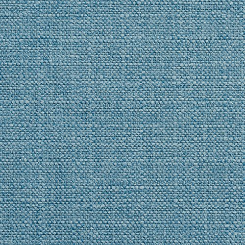 E910 Baby Blue Woven Tweed Contemporary Crypton Performance Upholstery Fabric by The Yard