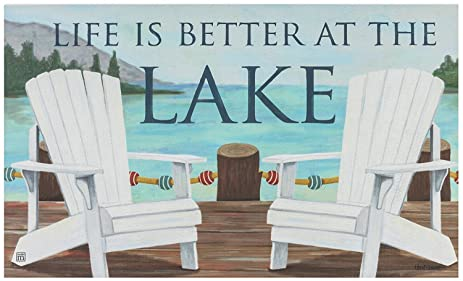 Life Is Better At The Lake Extra Large Bath Towels Nautical Adirondack Chair  Wrap For Daily