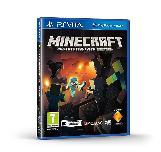 Minecraft (PlayStation Vita): Amazon co uk: PC & Video Games