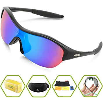 polarized glasses  Amazon.com: Torege Tr90 Flexible Kids Sports Sunglasses Polarized ...