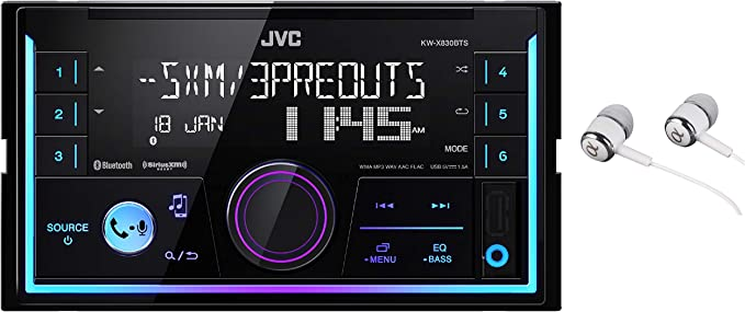 Amazon.com: JVC KW-SX83BTS 2-Din Apple and Android ...
