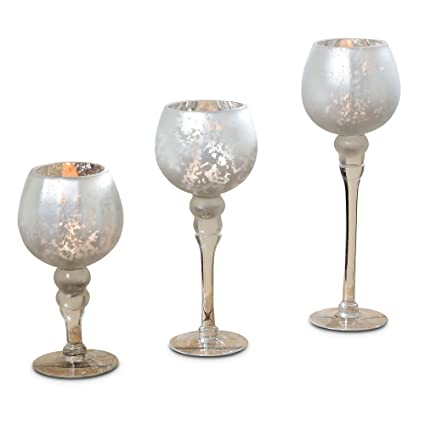 amazon com the spectacular cape cod long stem candle holders set
