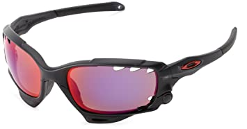 Oakley Racing Jacket Lunettes Matte Black Ink Red Polarized Black Iridium 4547a66dd5e6