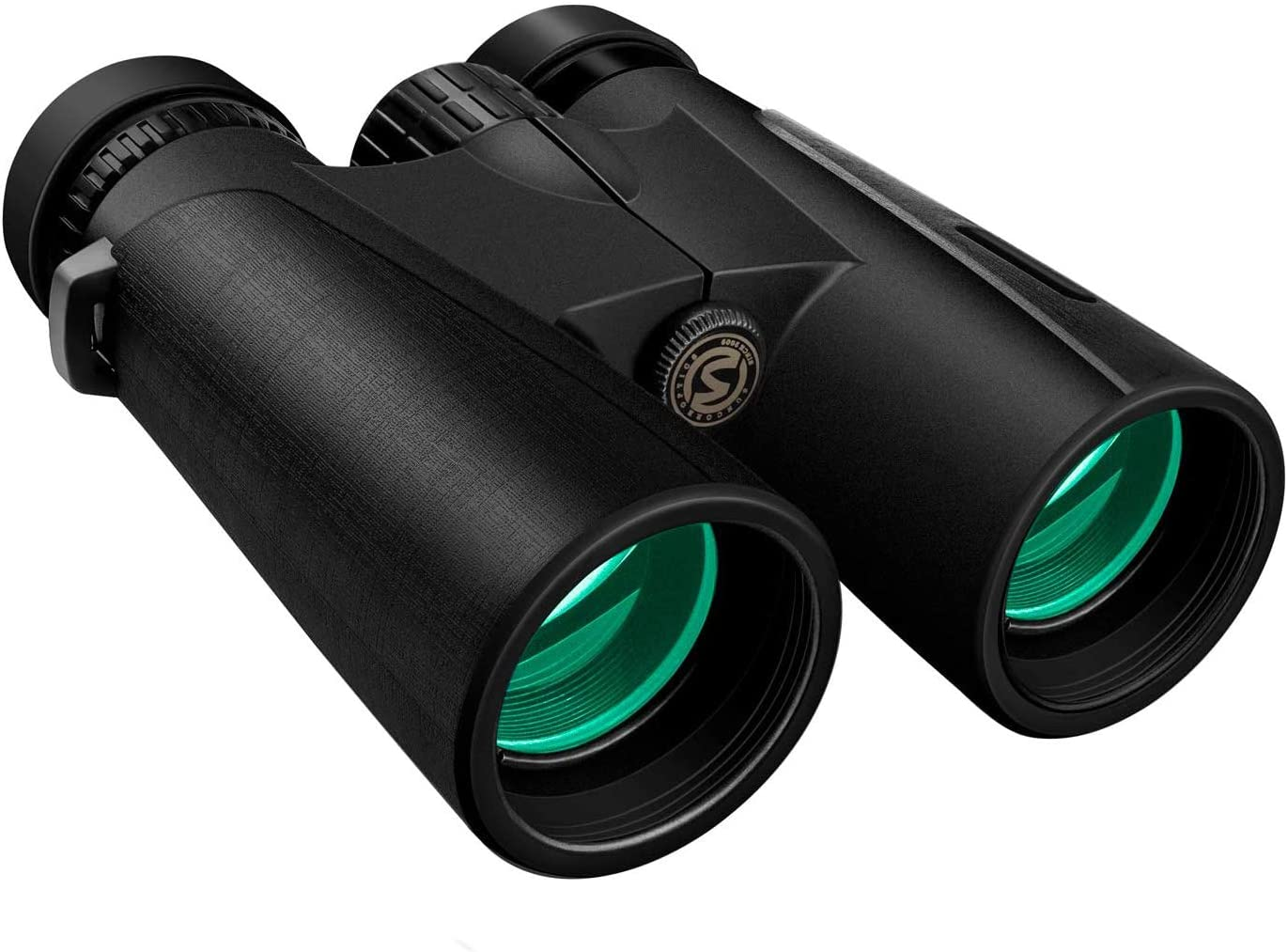 Cayzor 12×42 Binoculars for Adults – Professional HD Clear Weak Light Vision for Bird Watching Traveling Concerts Sports – BAK4 Prism FMC Lens