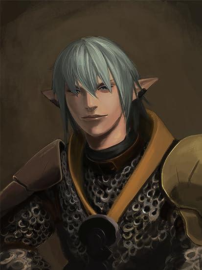 Printing Pira - Final Fantasy XIV Online Haurchefant Greystone Poster  (11x17)