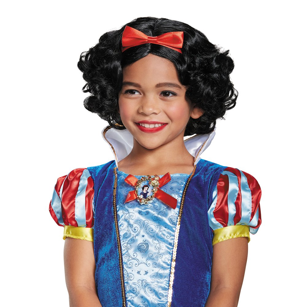 Snow White Deluxe Child Wig, One Size by Disguise