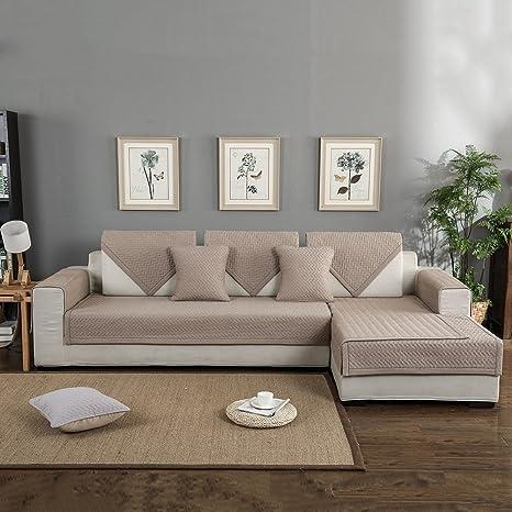 Forcheer divano in cotone antiscivolo divano copertura divano Shield ...