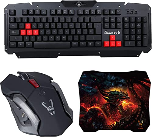 Woxter Stinger FX 95 W Kit - Kit Gaming inalámbrico Compuesto ...