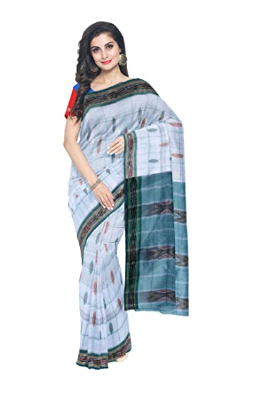 51773ebde2c Weavesmart Handloom Pochampally Ikat Cotton Saree (wps0994