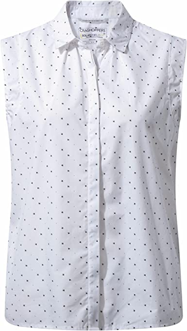 Craghoppers - Camisa sin Mangas de algodón Modelo Esta para Mujer ...