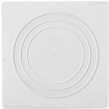 Wilton 302-1804 Decorator Preferred Square Separator Plate for Cakes 12-Inch  sc 1 st  Amazon.com & Amazon.com | Wilton 302-1804 Decorator Preferred Square Separator ...