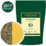 Green Tea Leaves from Himalayas (50 Cups), 100% Natural Detox Tea, Weight Loss Tea, Cleansing Tea & Slimming Tea, Powerful Anti-Oxidants, 2017 Fresh Harvest, Green Tea Loose Leaf, 3.53oz