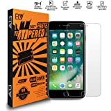 Elv E LV iPhone 6 Glass Screen Protector, iPhone 6 Tempered glass Screen Guard Crystal Clear HD Quality for iPhone 6S