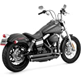 Vance and Hines Big Shots Staggered Full System Exhaust for Harley Davidson 201 - One Size