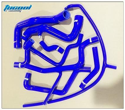 Amazon.com: Tucool Racing 1154 Silicone Radiator Hose for VW Corrado VR6 GOLF MK3 VR6 2.8 92-97 Radiator Hose Kit Coolant Hose Kit (Blue): Automotive