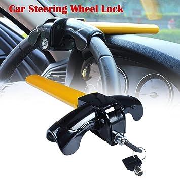 Auto Lenkradschloss EFORCAR Auto Universal Diebstahlsicher Einziehbare T-f/örmige Heavy Duty Lock