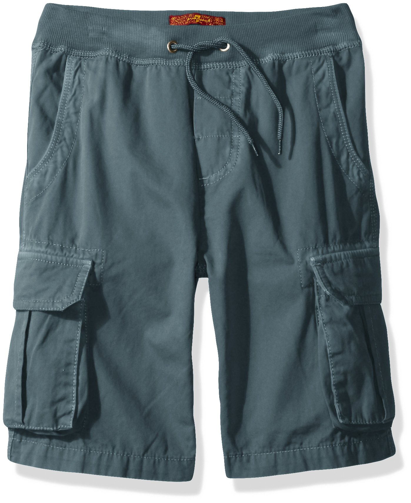 7 For All Mankind Big Boys' Athletic Short, Faded Turquoise, 10