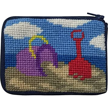 Playa Play aguja Kit de Monedero con lana persa: Amazon.es ...