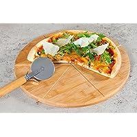 Kesper-Plato para pizza, bambú, FSC, 32cm, madera, 3