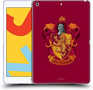 Head Case Designs Officially Licensed Harry Potter Gryffindor Crest Chamber of Secrets I Soft Gel Case Compatible with Apple iPad 10.2 (2019)/(2020)