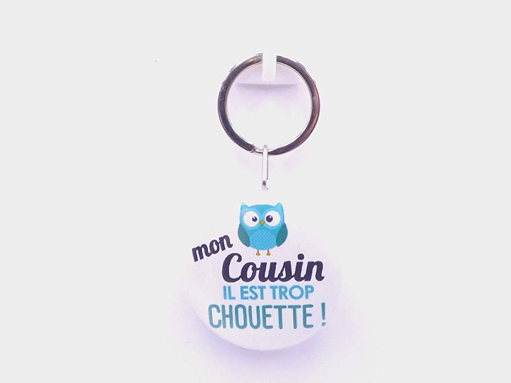 new hand made cousin keyring