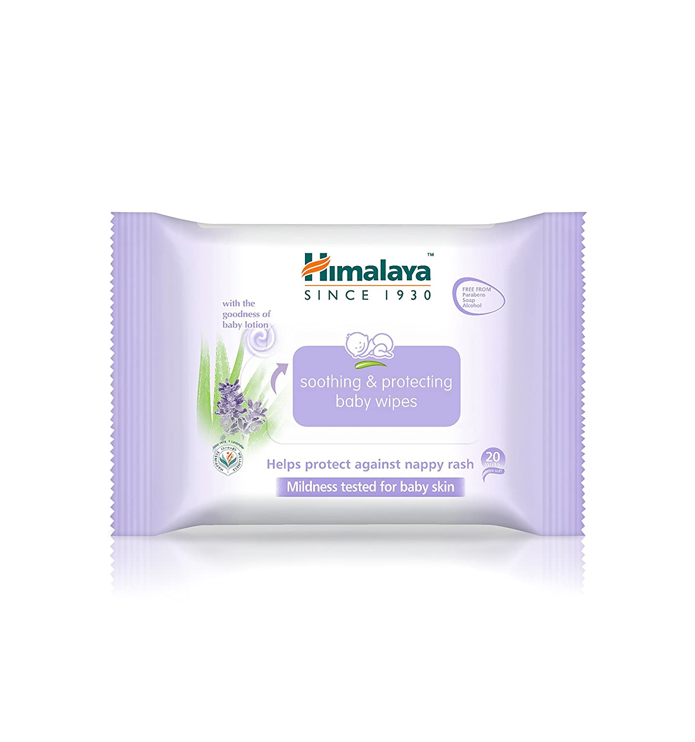 Himalaya Gentle Cleansing Baby Wipes – Fragrance-free, Alcohol-free, Hypoallergenic Cleansing Cloth – 56 Wipes Per Package, 6 Count (Gentle Cleansing Baby Wipes) Himalaya Herbals
