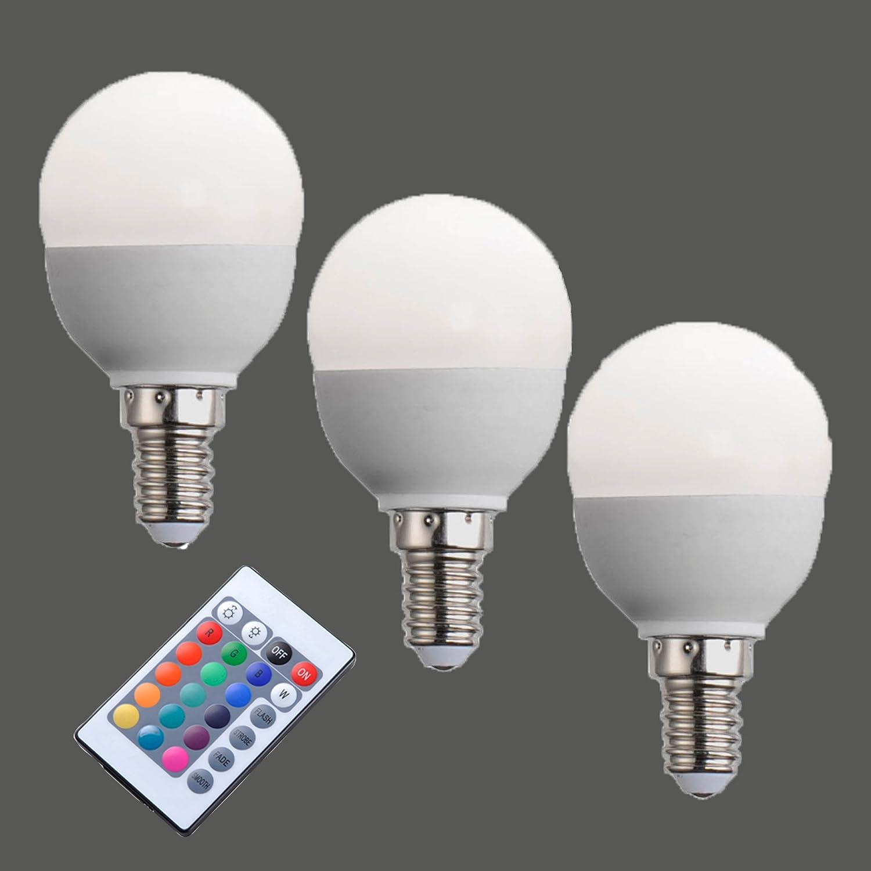 3er Set E14 LED Leuchtmittel 3,5W 200l/3000K dimmbar mit ...