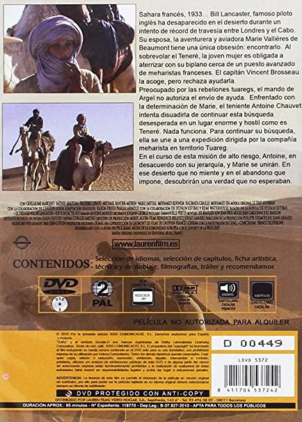 El Ultimo Vuelo DVD 2009 La dernier vol: Amazon.es: Cine y Series TV