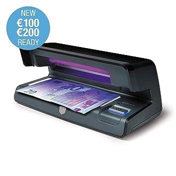 Safescan 70 Negro - Detector UV con luz LED para verificar la marca al agua y la microimpresión en billetes, tarjetas de crédito y documentos de identidad: ...