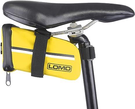 Lomo - Bolsa de sillín de bicicleta, impermeable - grande, color ...