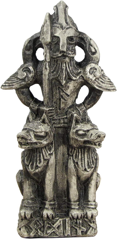 Dryad Design The All-Father Norse God Odin Figurine - Stone Finish
