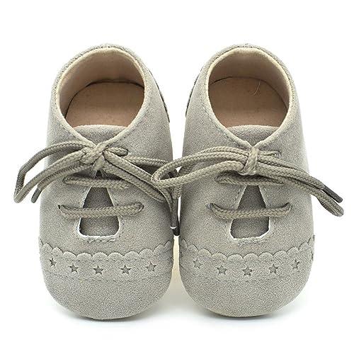 🎀 Zapatos bebé recién Nacidos Primero | Zapatos con Cordones ...